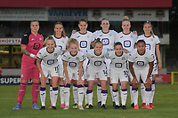 team of Anderlecht pictured during a female soccer game between RSC Anderlecht Dames and AA Gent Ladies  on the fourth matchday of the 2021 - 2022 season of Belgian Womens Super League , friday 10 th of September 2021 in Overijse , Belgium . PHOTO SPORTPIX | DIRK VUYLSTEKE