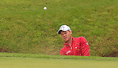 Danny WILLETT (ENG) during round 2 of the 2015 BMW PGA Championship over the West Course at Wentworth, Virgina Water, London. 22/05/2015<br /> Picture Fran Caffrey, www.golffile.ie: