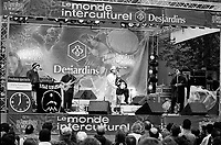 Quebec  (QC) CANADA -  August 1999 file photo - Francofolies outdoor concert
