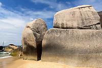 Tianya Haijiao-Felsen bei Sanya auf der Insel Hainan, China<br /> Tianya Haijiao-rocks near Sanya,  Hainan island, China