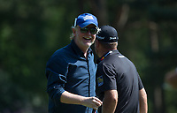 Chris Evans (TV / Radio) during the BMW PGA PRO-AM GOLF at Wentworth Drive, Virginia Water, England on 23 May 2018. Photo by Andy Rowland.