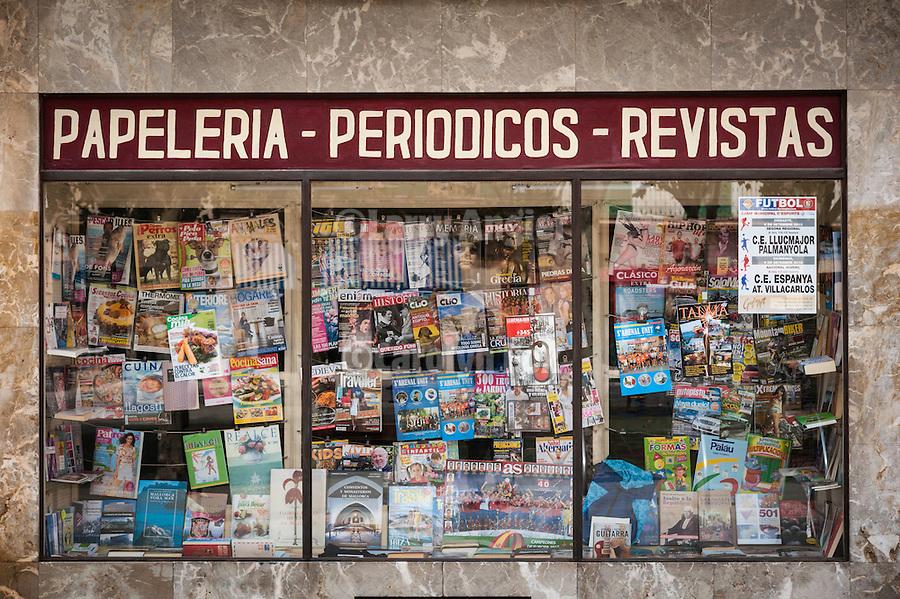 Bookstore and newsstand, Llucmajor, Mallorca