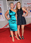 """Jamie Lee Curtis wearing David Meister & her daughter  at The Touchstone Pictures' World Premiere of """"You Again"""" held at The El Capitan Theatre in Hollywood, California on September 22,2010                                                                               © 2010 Hollywood Press Agency"""