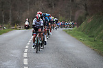 Juraj Sagan (SVK) and Bora-Hansgrohe at the front of the peloton during Stage 5 of the 78th edition of Paris-Nice 2020, running 227km from Gannat to La Cote-Saint-Andre, France. 12th March 2020.<br /> Picture: ASO/Fabien Boukla | Cyclefile<br /> All photos usage must carry mandatory copyright credit (© Cyclefile | ASO/Fabien Boukla)