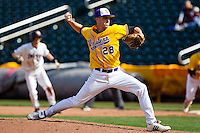 Garrett Bolt (28) of the Western Illinois Leathernecks during a game vs. the Missouri State Bears at Hammons Field in Springfield, Missouri;  March 20, 2011.  Photo By David Welker/Four Seam Images
