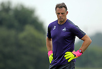 Pictured: Tony Roberts Thursday 18 August 2016<br /> Re: Swansea City FC training at Fairwood, Wales, UK