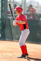 Kyle Waldrop - Cincinnati Reds - 2010 Instructional League.Photo by:  Bill Mitchell/Four Seam Images..