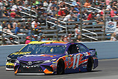 2017 Monster Energy NASCAR Cup Series<br /> O'Reilly Auto Parts 500<br /> Texas Motor Speedway, Fort Worth, TX USA<br /> Sunday 9 April 2017<br /> Denny Hamlin, FedEx Office Toyota Camry<br /> World Copyright: Matthew T. Thacker/LAT Images<br /> ref: Digital Image 17TEX1mt1410