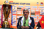Press conference prior to the AFF Suzuki Cup 2008 Final - 2nd leg match between Vietnam and Thailand at My Dinh National Stadium on 27 December 2008, in Hanoi, Vietnam. Photo by Stringer / Lagardere Sports