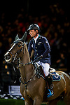 Denis Lynch of Ireland riding Quote Zavaan in action during the Hong Kong Jockey Club Trophy competition as part of the Longines Hong Kong Masters on 13 February 2015, at the Asia World Expo, outskirts Hong Kong, China. Photo by Victor Fraile / Power Sport Images
