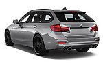 Car pictures of rear three quarter view of a 2018 Alpina BS 3 Touring Base 5 Door Wagon angular rear