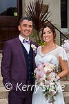 Katie Digby, Beaufort son of Jim and Finola and Paul O'Sullivan Upper Tullig Killorglin son of Michael and Mary who were married in a civic ceremony in the Cahernane House Hotel on Saturday, flowergirl was Indi O'Sullivan the couple will reside in Killorglin