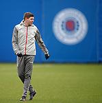 19.02.2020 Rangers training: Steven Gerrard