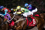 Jockey Sam Clipperton riding Blaze Stamina during Hong Kong Racing at Happy Valley Race Course on December 06, 2017 in Hong Kong, Hong Kong. Photo by Marcio Rodrigo Machado / Power Sport Images