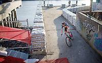 Sven Nys (BEL/Crelan-AAdrinks) solo<br /> <br /> Jaarmarktcross Niel 2014