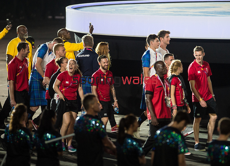 *This image must be credited to Ian Cook Sportingwales and can only be used in conjunction with this event only*<br /> <br /> 21st Commonwealth Games - Closing ceremony- Day 11 - 15\04\2018 - Carrara Stadium - Gold Coast City - Australia