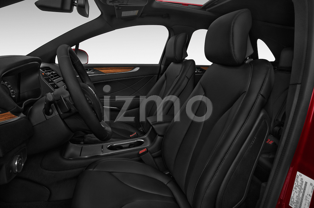 Front seat view of a 2018 Lincoln MKC FWD 5 Door SUV Front Seat car photos
