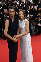 """CANNES, FRANCE. July 6, 2021: Jodie Foster & Alexandra Hedison at the premiere of """"Annette"""" at the gala opening of the 74th Festival de Cannes.<br /> Picture: Paul Smith / Featureflash"""