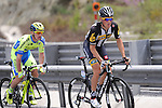 Serge Pauwels (BEL) MTN-Qhubeka and Jay McCarthy (AUS) Tinkoff-Saxo during Stage 7 of the 2015 Presidential Tour of Turkey running 166km from Selcuk to Izmir. 2nd May 2015.<br /> Photo: Tour of Turkey/Mario Stiehl/www.newsfile.ie