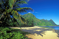 Morning light at Tunnels, Kauai, Hawaii, USA.