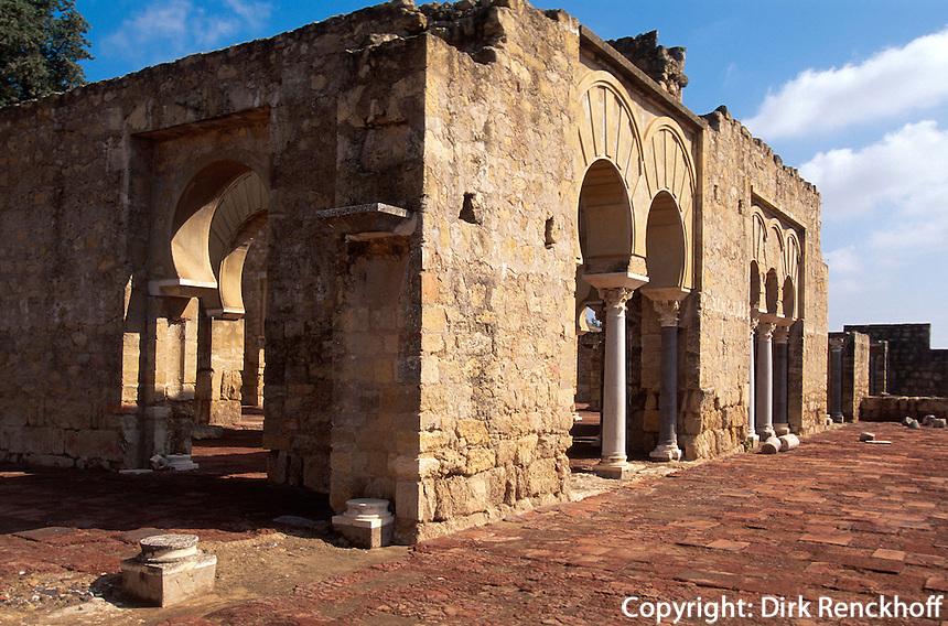Spanien, Andalusien, maurische Ausgrabungen in Medina Azahar