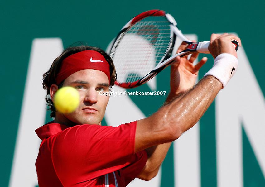 17-4-07, Monaco,Master Series Monte Carlo, Federer  .