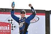 2017 NASCAR XFINITY Series - Rinnai 250<br /> Atlanta Motor Speedway, Hampton, GA USA<br /> Saturday 4 March 2017<br /> Kyle Busch, NOS Energy Drink Toyota Camry celebrates his win in Victory Lane<br /> World Copyright: Nigel Kinrade/LAT Images<br /> ref: Digital Image 17ATL1nk05771