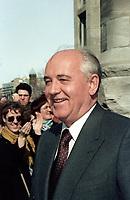 FILE - Former Russian President  Mikhail<br /> GORBATCHEV, March 27, 1993.<br /> <br /> PHOTO  :  Agence Quebec Presse