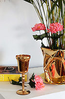 gold decorative chalice
