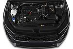 Car Stock 2022 KIA K5 LXS-FWD 4 Door Sedan Engine  high angle detail view