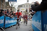 Greg Van Avermaet (BEL/BMC) to the start<br /> <br /> 71st Dwars door Vlaanderen (1.HC)