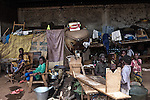 CAR, Bangui: IDP's from the Mpoko camp at the zone where all the old planes are stored.  15th April 2016.<br /> RCA, Bangui : IDP de du camp Mpoko dans la zone où tous les anciens avions sont stockés . 15 avril 2016.