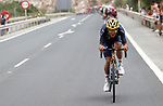 Olympic Champion Richard Carapaz (ECU) Ineos Grenadiers during Stage 10 of La Vuelta d'Espana 2021, running 189km from Roquetas de Mar to Rincón de la Victoria, Spain. 24th August 2021.     <br /> Picture: Luis Angel Gomez/Photogomezsport   Cyclefile<br /> <br /> All photos usage must carry mandatory copyright credit (© Cyclefile   Luis Angel Gomez/Photogomezsport)