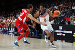 United States´s DeRozan (R) and Serbia´s Jovic during FIBA Basketball World Cup Spain 2014 final match between United States and Serbia at `Palacio de los deportes´ stadium in Madrid, Spain. September 14, 2014. (ALTERPHOTOSVictor Blanco)