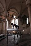 THE MONSTER WHICH NEVER BREATHES<br /> <br /> Myriam Gourfink, chorégraphie et danse<br /> Kasper T. Toeplitz, conception, composition et informatique live<br /> Eva Darracq-Antesberger, orgue Cavaillé-Coll<br /> Zak Cammoun, régie son<br /> Cadre : Songes chorégraphiques à Royaumont<br /> Date : 05/09/2014<br /> Lieu : Fondation Royaumont