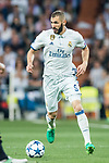 Karim Benzema of Real Madrid in action during their 2016-17 UEFA Champions League Semifinals 1st leg match between Real Madrid and Atletico de Madrid at the Estadio Santiago Bernabeu on 02 May 2017 in Madrid, Spain. Photo by Diego Gonzalez Souto / Power Sport Images