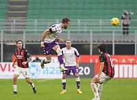 Milano  29-11-2020<br /> Stadio Giuseppe Meazza<br /> Campionato Serie A Tim 2020/21<br /> Milan - Fiorentina<br /> nella foto:Castrovilli                         <br /> foto Antonio Saia Kines Milano