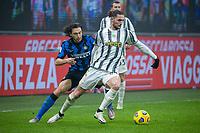 inter-juventus - Milano 2 febbraio 2021 - semifinale coppa italia - nella foto: rabiot e darmian