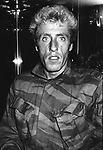 Roger Daltrey from The Who on November 1, 1982 in New York City.