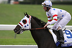 Court Vision with Robby Albarado up prior to winning The Shadwell Turf (gr.I) at Keeneland. 10.10.2009