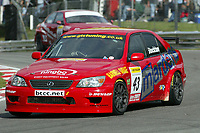 Round 9 of the 2006 British Touring Car Championship. #43 Chris Stockton (GBR). Team Forward Racing. Lexus IS200.