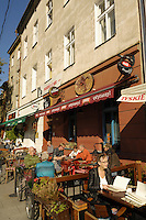 Poland, Krakow, Café, Kazimierz