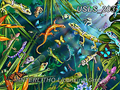 Lori, REALISTIC ANIMALS, REALISTISCHE TIERE, ANIMALES REALISTICOS, zeich, paintings+++++Geckos_Rainforest_72,USLS203,#a#, EVERYDAY ,puzzle,puzzles