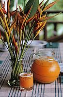"""Océanie/Australie/Queensland/Env. de Mossman: Jus de fruits de la passion chez Alan et Suzan Carle au """"Botanical Ark"""""""