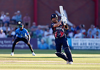 Dan Lincoln bats for Kent during Kent Spitfires vs Sussex Sharks, Vitality Blast T20 Cricket at The Spitfire Ground on 18th July 2021