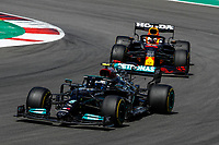 77 BOTTAS Valtteri (fin), Mercedes AMG F1 GP W12 E Performance, action and 33 VERSTAPPEN Max (nld), Red Bull Racing Honda RB16B, action during the Formula 1 Heineken Grande Prémio de Portugal 2021 from April 30 to May 2, 2021 on the Algarve International Circuit, in Portimao, Portugal <br /> FORMULA 1 : Grand Prix Portugal - Essais - Portimao - 02/05/2021 <br /> Photo DPPI/Panoramic/Insidefoto <br /> ITALY ONLY