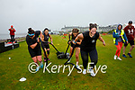 The ladies from Aspire Fitness in Cahersiveen taking part in the Beachfit Games in Waterville on Saturday pictured l-r; Laoise O'Driscoll, Marie Sheehan, Kayleigh Osborne & Karen Coffey.