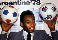 Pele 1978 Photo by Adam Scull-PHOTOlink.net