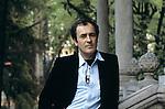 Salsomaggiore Incontri,1981,Bernardo Bertolucci,  Bernardo Bertolucci, portrait in<br />   Salsomaggiore