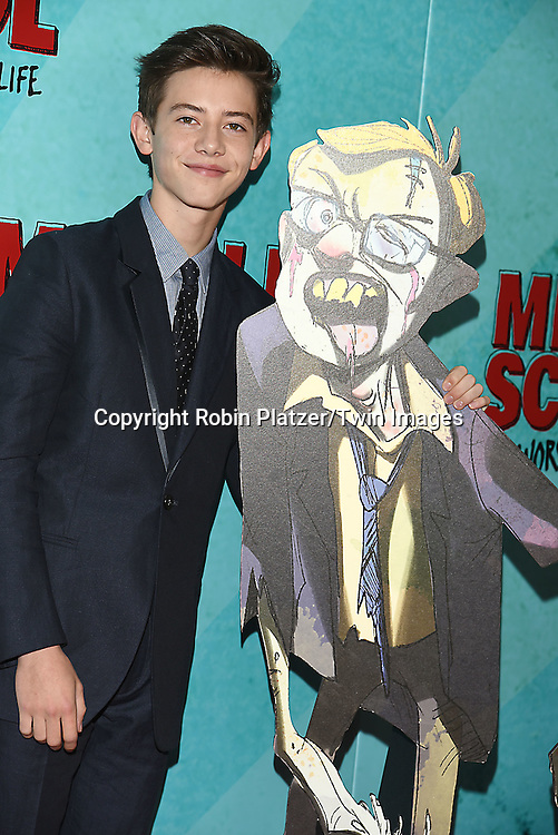 """actor Griffin Gluck attends the """"Middle School: The Worst Years of My Life"""" New York Screening on October 1, 2016 at the Regal E-Walk in New York, New York, USA.<br /> <br /> photo by Robin Platzer/Twin Images<br />  <br /> phone number 212-935-0770"""